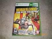 MICROSOFT Microsoft XBOX 360 Game BORDERLANDS GAME OF THE YEAR EDITION